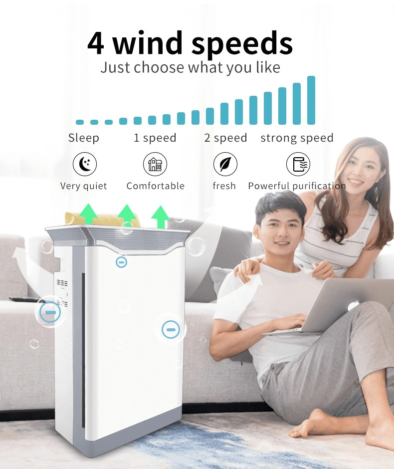 UVC Air purifier for commercial school hospital home office (25)